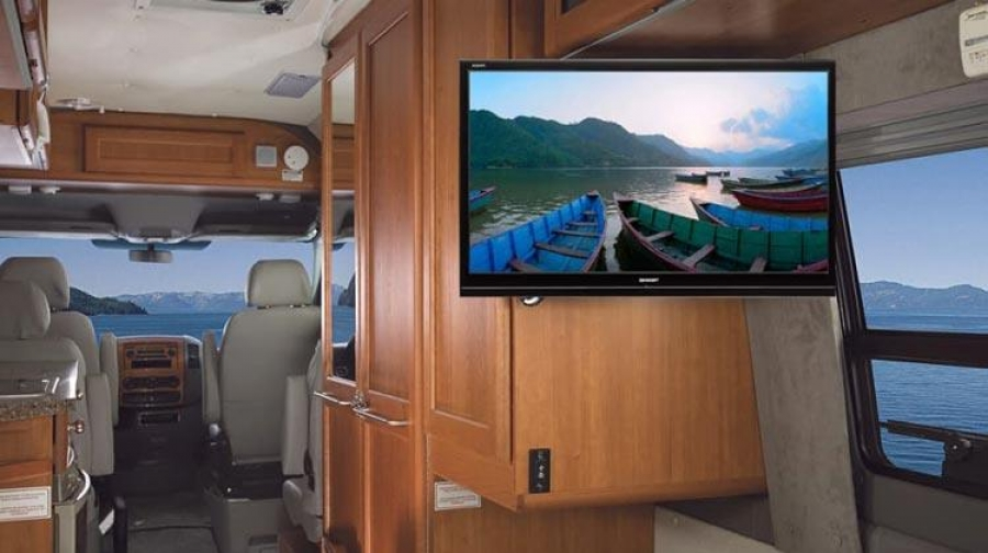 Mounting a TV on your RV wall